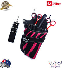 SALON HAIRDRESSING TOOL CASE SCISSOR & COMB HOLSTER POUCH SHOULDER BAG WITH BELT