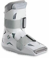 Aircast SP Short Pneumatic Walker Brace Walking Boot Large Ankle Brace, Used