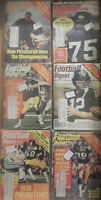 Vintage PITTSBURGH STEELERS Football Digest 1973 1975 1976 1980