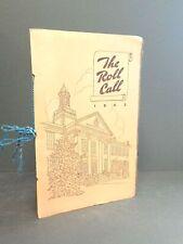 Plainville High School annual yearbook 1943 Cincinnati Ohio