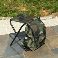 Portable Outdoor Folding Chair Stool Camping Fishing Picnic Seat &