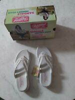 Sandals Womens Skechers Memory Foam Size 6 Relaxed Fit Super Comfy