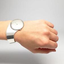1970s Modern Buch + Deichmann Danish Sterling Silver Cuff Watch