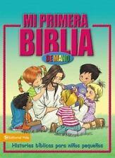 Mi Primera Biblia de Mano: Historias biblicas para pequenines (Spanish Edition)