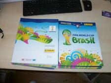 7 x Panini World Cup 2014 Brazil Empty sticker Albums Mint Condition SEVEN