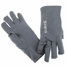 Simms Ultra Wool Core 3 Finger Liner - Color Carbon - ON SALE NOW!