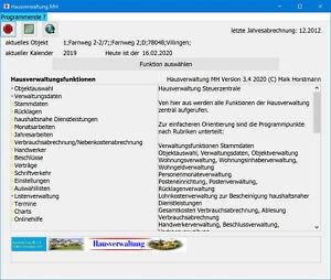Hausverwaltung MH 3.4 WEG Abrechnung und Nebenkostenabrechnung  DownloadLink ...