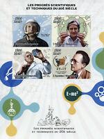 Madagascar Science Stamps 2019 MNH Yuri Gagarin Schrodinger Space Physics 4v M/S