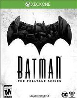 Batman: The Telltale Series -- Season Pass Disc (Microsoft Xbox One, 2016) NEW