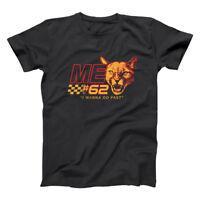Talladega Cougar 62  Me Nights Nascar Ferrel Funny Black Basic Men's T-Shirt
