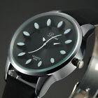 Dalas New Fashion Black Dial Analog Quartz Leather Wrist Lady Women Watch