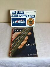 Vintage Mixed Lot Of 2 Softcover Railroad Model Guidebooks Kalmbach Publishing