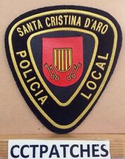 SANTA CRISTINA D'ARO, SPAIN POLICIA LOCAL POLICE SHOULDER PATCH