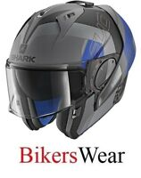 SHARK EVO-ONE 2 Slasher MATT AKB Flip Up modular Motorcycle Helmet ZQ