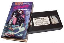 Vintage 1988 Kiss Meets The Phantom Of The Park VHS Video Cassette