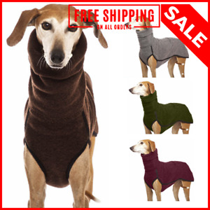 Pet Dog Clothes Coat Winter Hoodies Warm Dog Vest Jacket Sweater Padded Fleece