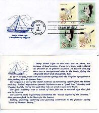 US FDC #2868a Cranes Block (5173)