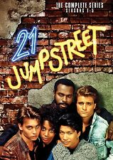 21 JUMP STREET COMPLETE SERIES SEASON 1,2,3,4,5 R1 DVD 18 DISC 1-6 JOHNNY DEPP