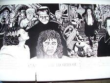 Castle Of Horror Movies - Howard Teman POSTER (48x90cm) New Licensed Art