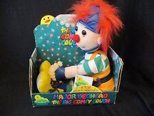 "Big Comfy Couch Major Bedhead ragdoll in box w/gift card commonwealth 22"" 1997"