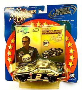 2002 NASCAR Winners Circle 03293 Rusty Wallace #2 Double Platinum 1:43