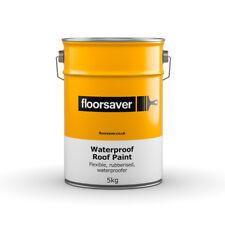 floorsaver Waterproof Roof Paint, 5kg