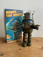 M.I.B ROBBY THE ROBOT BILLIKEN JAPAN WIND UP VINATGE SPACE TOY