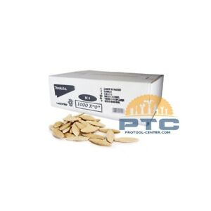 MAKITA P-08850 1,000 PCS Biscuit Jointer Accessories - Biscuit Dowel NO.20
