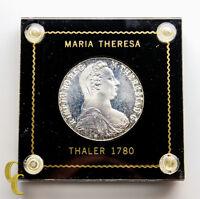 1780 SF Austria Maria Theresia Thaler (Brilliant Uncirculated BU) Restrike KM#T1