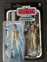 STAR WARS The Black Series 40TH ANNIVERSARY Princess Leia Organa (Hoth) Figure