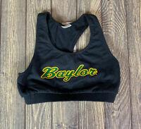 Boxercraft Womens Black Baylor University Racerback Sports Bra Size Small