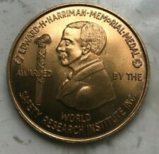 1970-71 Edward Harriman Memorial Medal - Sante Fe Honor Medal