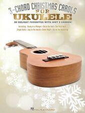 3-Chord Christmas Carols for Ukulele Sheet Music Ukulele Book NEW 000101852