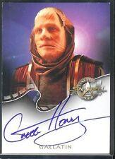 Star Trek Cinema 2000 Auto A18 Gregg Henry Gallatin