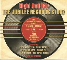 NIGHT AND DAY THE JUBILEE RECORDS STORY 1958 - 1962 - 2 CD BOX SET