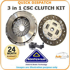 3 PIECE CSC CLUTCH KIT FOR RENAULT TRAFIC II 1.9 2001 - 2006 CK9835-21 386
