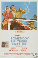 Somebody up there likes me Paul Newman movie poster #2
