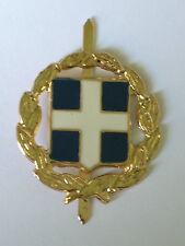 Greek and Cypriot Military Army Cap Badge Original