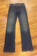 Paul & joe sister slim jasona jeans 25 6-8 long nouveau rp £ 165