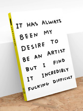 David Shrigley - Be An Artist Sketchbook (Collectible)