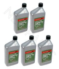 NEW Set of 5 Quarts Automatic Transmission Fluids CVT-1 Genuine fits Acura Honda