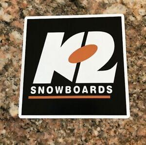 K2 Snowboard Sticker - K2 Snowboards Skiing Snowboarding Skiis Mountain Sports