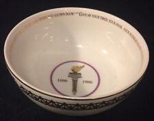 Avon Collectible Statue Of Liberty 100 Anniversary Memorabilia Bowl
