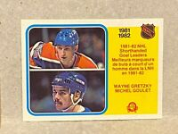 1982-83 OPC O-Pee-Chee Hockey Shorthanded Goal Leader Wayne Gretzky #237