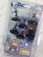 DC Heroclix Teen Titans Teen Titans: The Ravagers Fast Forces Set