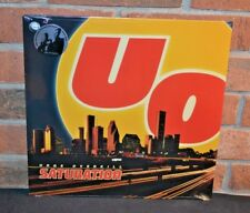 URGE OVERKILL - Saturation, Limited 25th Anni CLEAR VINYL LP New & sealed!