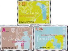 Luxemburg 1611-1613 (kompl.Ausg.) gestempelt 2003 Kleingärtner