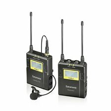 Saramonic UWMIC9 UHF Wireless Lavalier Microphone System Transmitter/Receiver
