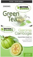 Green Tea 2000mg Garcinia Cambogia 1000mg Strong Diet Weight loss Slimming Pills