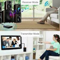 Bluetooth 5.0 Sender Empfänger 2 IN 1 Wireless Jack Adapter NEW 3.5mm Aux S6B7